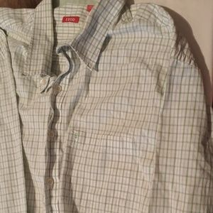 MENS IZOD Long Sleeve Button Down Shirt Size 3XT